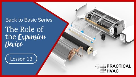the role of the expansion device